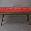 Studio series bench  folklorica with flame red seat five finger furnishings treniq 1 1494609402712