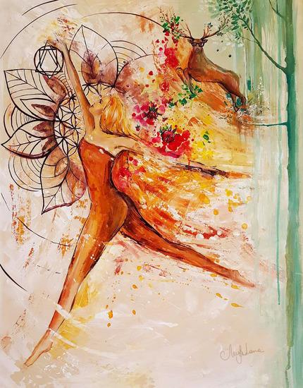 Mindfulness  original art lanagraphic art   design treniq 1 1494936510605