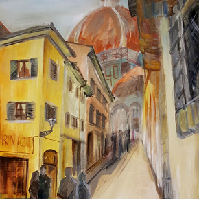 A-Walk-In-Florence-Painting_Lanagraphic-Art-&-Design_Treniq_0