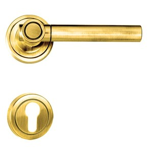 Brescia-R-Door-Handle-On-Round-Rose_Golden-Locks_Treniq_0