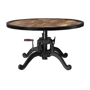 Heavy-Metal-Base-Round-Top-Crank-Table_Shakunt-Impex-Pvt.-Ltd._Treniq_0
