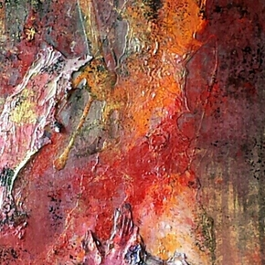 """""""The Fire Within"""" Painting"""