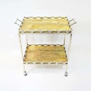 Bar-Cart-Rectangle-With-Wood-_Home-N-Earth_Treniq_0