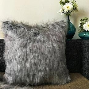 Fox-Fur-Cushion-Cover-Grey-_The-Pink-Elephant_Treniq_0