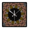 Shoe print design wall clock   square beryl phala limited treniq 1 1496685752734