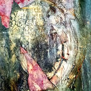 """Fragmentation, or Breaking Through"" Painting"