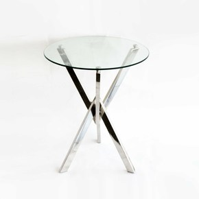 Stainless-Steel-With-Glass-Top-End-Table_Home-N-Earth_Treniq_0