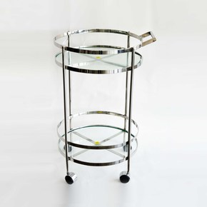Stainless-Steel-And-Glass-Bar-Cart-_Home-N-Earth_Treniq_0