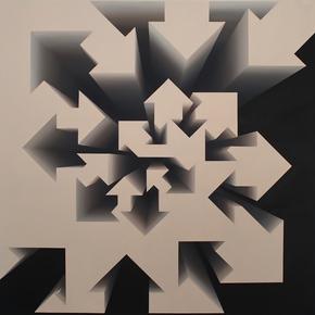 """Fibonacci-Nautilus-Beige""-By-Lakshmi-Mohanbabu_Addicted-Art-Gallery_Treniq_0"