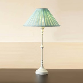 Metal-Table-Lamp-White-18.5-Inch-With-Fabric-Shade-Lamp-For-Living-Room_Eclat-Decor-_Treniq_0