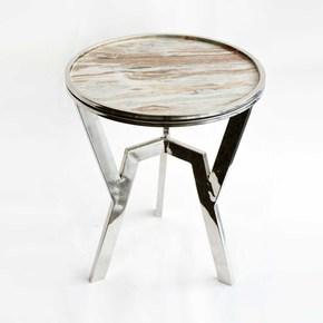 Marble-Top-End-Table_Home-N-Earth_Treniq_0