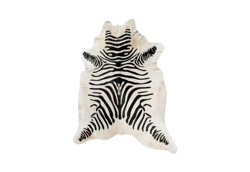 Cowhide rug   zebra print gilded home treniq 1 1498479142428