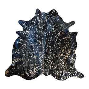 Cowhide-|-Black-With-Gold-Metallic_Gilded-Home_Treniq_0