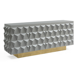 Charlie-Credenza-|-Gray-And-Brass_Gilded-Home_Treniq_1