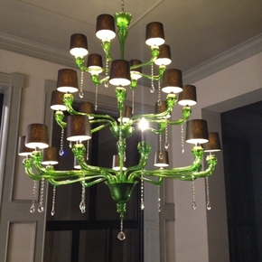Classic-Shaded-Green-Murano-Chandelier_Mallory-Custom-Lighting_Treniq_0