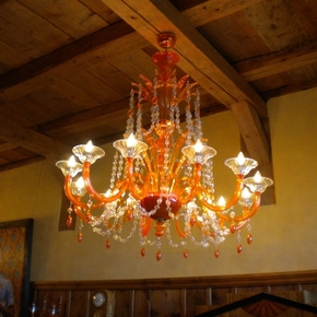 Orange-Murano-Chandelier_Mallory-Custom-Lighting_Treniq_0