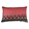 Red avadavat velvet cushion anjali hood ltd. treniq 1 1499003739849