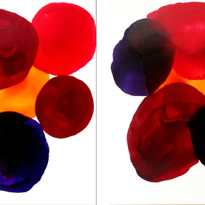 Glass-Circles-2-Canvases-Painting-Sold_Ritzi-Art_Treniq_0