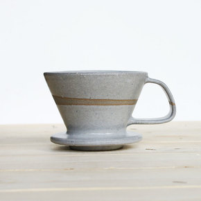 Coffee-Drip-Brewer-Light-Grey_Eunmi-Kim-Pottery_Treniq_0