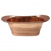 Luxurious polished copper bathtub thomas james bath collections treniq 1 1499976207820