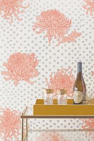 Kanoko Wallpaper - Coral