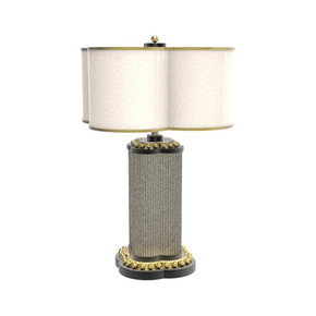 Happy Clover Table Lamp Gold - Mari Ianiq - Treniq