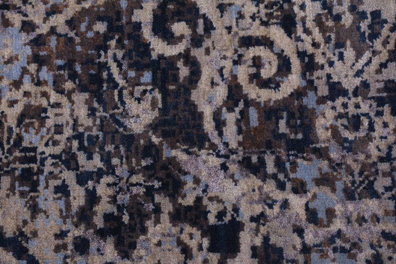 Transitional hand knotted wool viscose rugs carpet overseas treniq 1 1501827276463