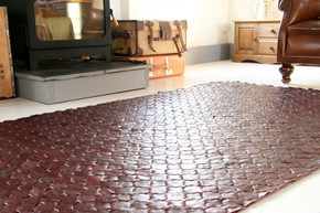 Rescued-Shiraz-Leather-Rug-Large-146-X-242_Elvis-&-Kresse_Treniq_0
