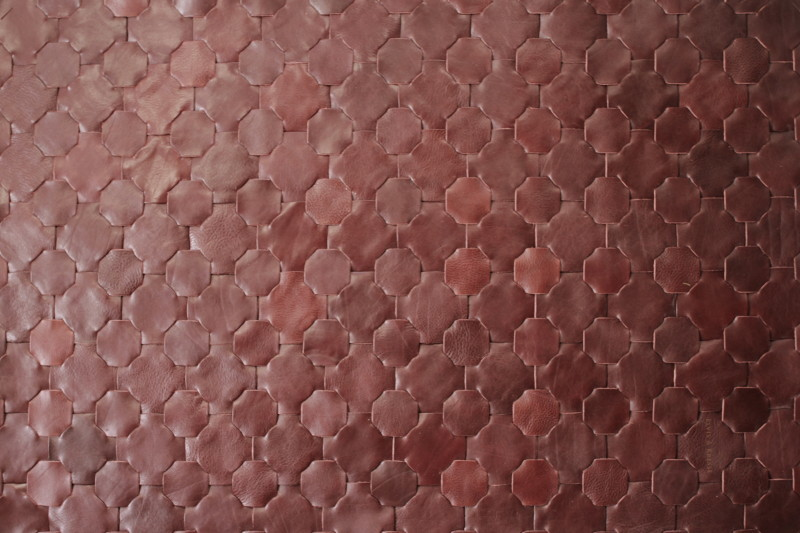 Rescued shiraz leather rug   large 146 x 242 elvis   kresse treniq 1 1502116783835