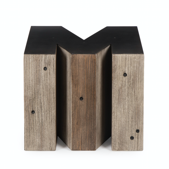 Wooden alphabet m side table andrew martin by resource decor treniq 1 1502203515905