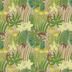 Jungle-Fabric_Edinburgh-Weavers_Treniq_0