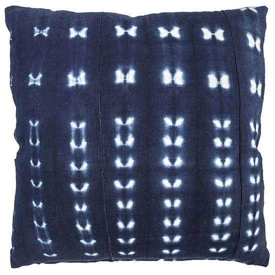 Indigo dream stitchdye cushion nomad design treniq 1 1503575542038
