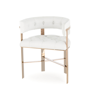 Art-Dining-Chair-Upholstered-Back-Tufted-(White-Leather)_Kelly-Hoppen_Treniq_0