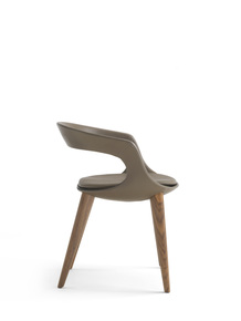 Frenchkiss-Chair-|-Low-Back-|-Wood-&-Leather_Enrico-Pellizzoni_Treniq_0