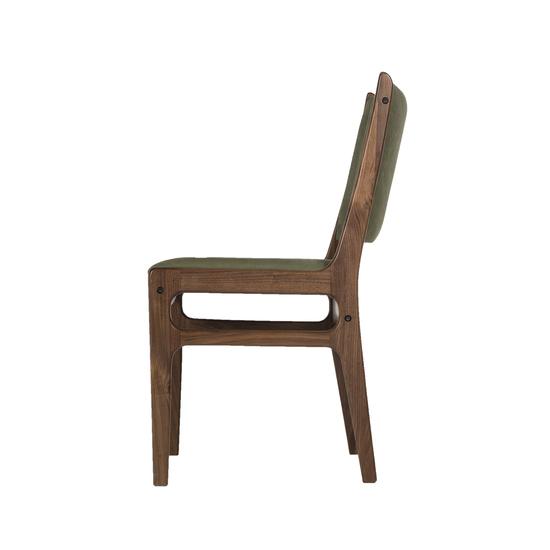 Fred side chair green canvas thomas bina treniq 1 1504090798735