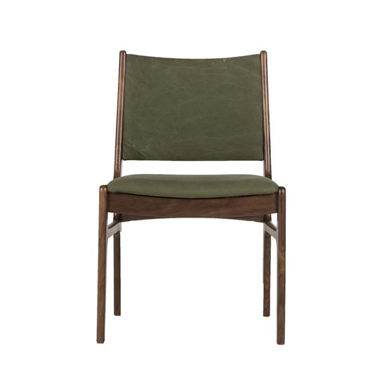 Fred side chair green canvas thomas bina treniq 1 1504090798728