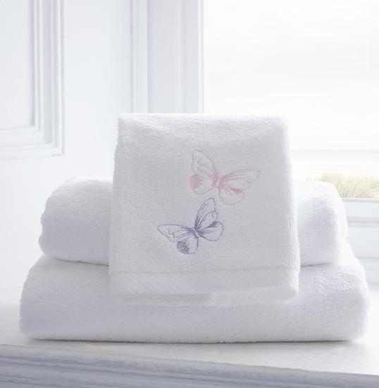 Butterflies organic cotton duvet cover and pillowcase collection the fine cotton company treniq 2 1504163131803