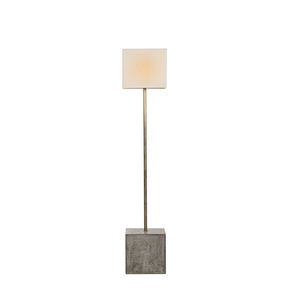 """Untitled""-Floor-Lamp-Square-(White-Shade)_Nellcote_Treniq_0"
