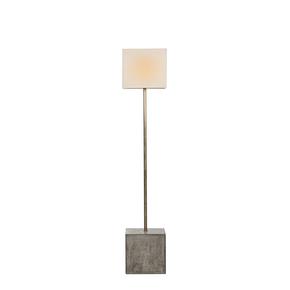"""""""Untitled""""-Floor-Lamp-Square-(White-Shade)_Nellcote_Treniq_0"""