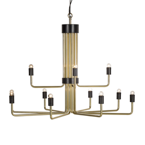 Le-Marais-Chandelier-Polish-Brass-&-Black-(12-Light)_Nellcote_Treniq_0