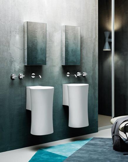 Nativo wall hung wash basin brass   clay treniq 1 1504458692638