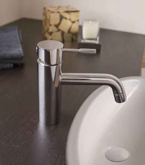 Arc basin tap brass   clay treniq 1 1504459206147