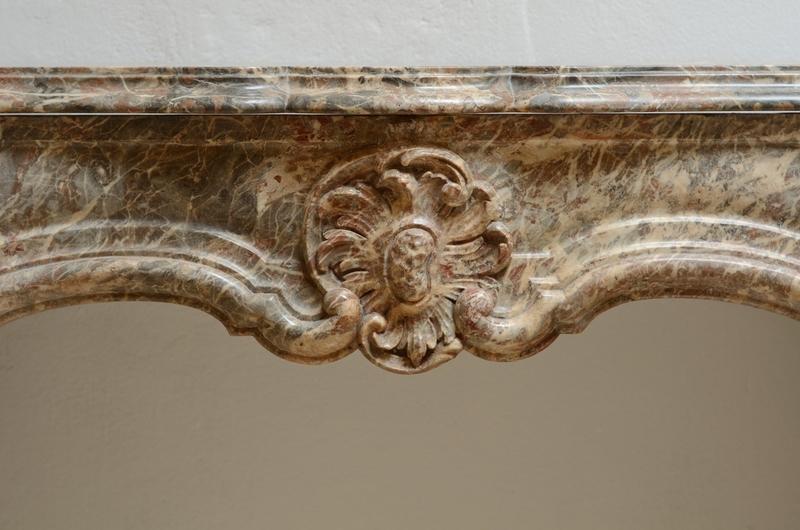 Unique petite 18th century regence fireplace mantel schermerhorn antique fireplaces treniq 1 1504599071465
