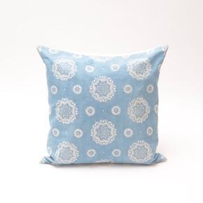 Natural-Light-Indigo-Sun-Flower-Pattern-Cushion_Bluehanded-Ltd_Treniq_0