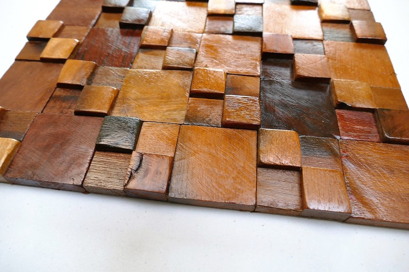 Decorative wall tiles  wood mosaic  wall covering panels  wooden tiles wood mosaic ltd treniq 1 1504818428240