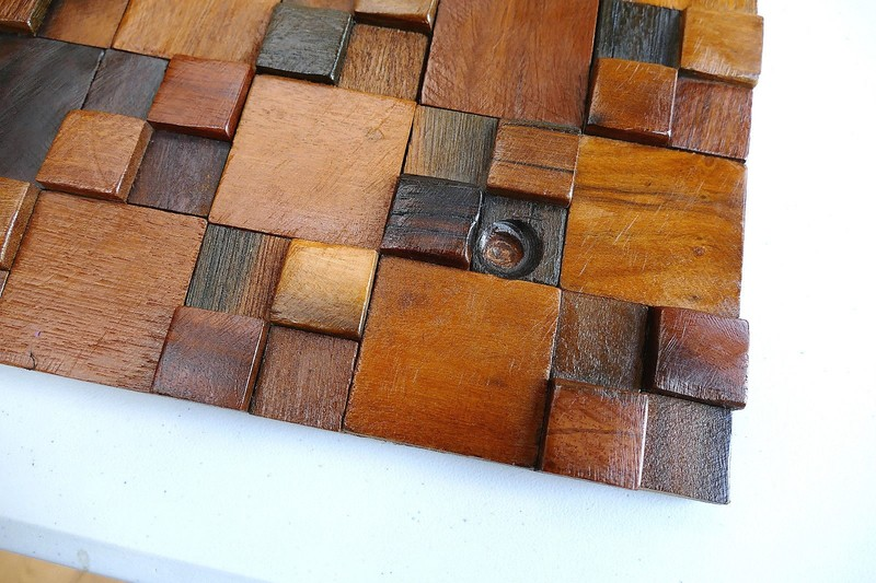 Decorative wall tiles  wood mosaic  wall covering panels  wooden tiles wood mosaic ltd treniq 1 1504818442451