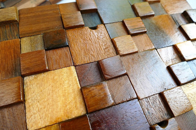 Decorative wall tiles  wood mosaic  wall covering panels  wooden tiles wood mosaic ltd treniq 1 1504818442458