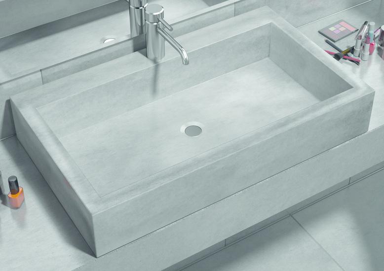 Sense counter top washbasin with tap hole living concrete ltd treniq 1 1504871197741