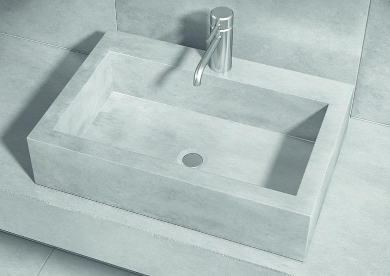 Sense counter top washbasin with tap hole living concrete ltd treniq 1 1504871225197