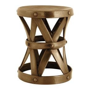 Antique Brass L Stool | Eichholtz Veracruz